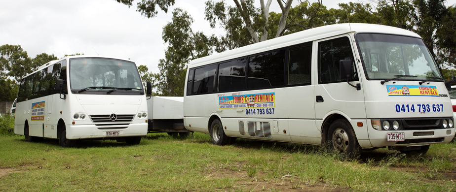 hire a bus rockhampton yeppoon